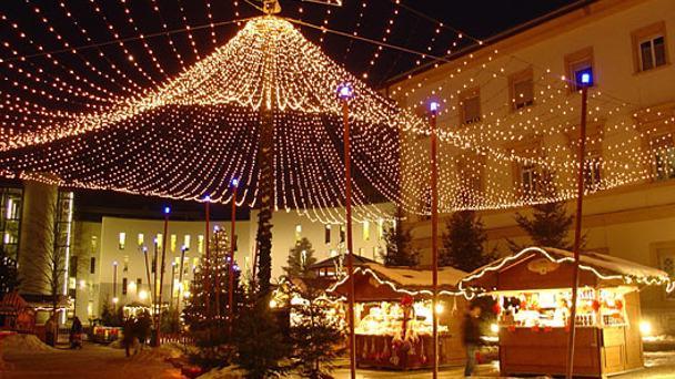 Weihnachten in der Luft